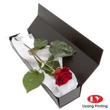 Custom Top Quality Magnetic Rose Box Packaging