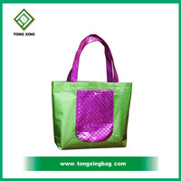 2015 Fashion Colorful Laminated PP Non Woven Bag