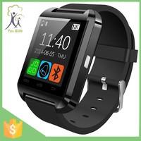wholesale china factory price Sport u watch u8 bluetooth smart wrist watch for cellphones