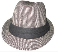 promotional cotton fedora hat size L/XL vintage jazz fedora