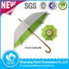Double layers Fresh Fruit Printing Umbrella/Wooden Shaft Umbrella