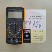 Portable mini Digital Multimeters Digital resistance Multimeter Victor VC830L