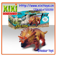 24Cm wholesale voice and light battery operated electric dinosaur toy