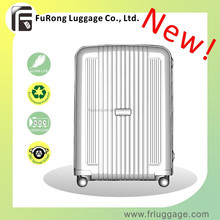 2015 New Luggage Aluminum Trolley Case with Universal Wheel/ Waterproof TSA Lock PP Luggage
