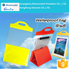 Cheaper PVC tablet waterproof bag with stand
