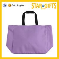China factory high quality elegent purple folding shopping bag