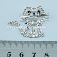 BH886 2015 China Wholesale Brooch Animal Jewelry new Shape Brooch Rhinestone Crystal Brooch wedding Brooches For design