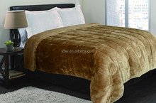 Chocolate Color Thick & Warm sherpa Quilt