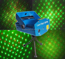 Mini Smart Stage RGB Twinlker Laser projector Light with Aluminum Case for Party Christmas KTV Disco Club Stage