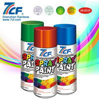 2015 Best Seller Rainbow Fine Chemical Famous Brand 7CF Acrylic 400 ml Waterproof Spray Paint