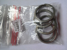 titanium grade2 split key ring 32mm OD