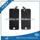 100% nova marca para iphone5s dipslay lcd, china fábrica por atacado para o iphone 5s screen display digitador