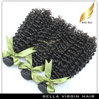 Real human unprocessed CURLY wave Malaysian human hair easy to install