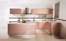 Unique kitchen cabinet doors with small pvc kitchen design and glass doors