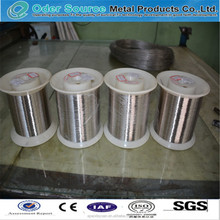 Excellent intensity in high temperature pure nickel wire