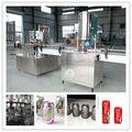 Máquina de enlatado automática para bebidas carbonatadas