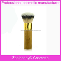 Noble black and white color flat top foundation brush Foundation cosmetic brush great for liquid makeup