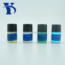 Personalized Disposable Plastic 30ml Hotel Cosmetic Shampoo Bottle