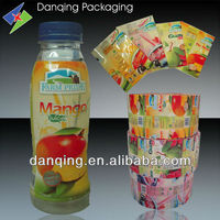 PVC Shrink Film,PVC cling film,Flexible Packaging Film for Water&Beverage Packing,Plastic Packaging