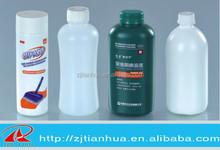 Wholesale t plastic pharmaceutical bottle PE Round 5.5cm Diameter 17.8cm High 300ml Plastic Detergent Bottle