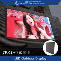 wedding/night club led screen with video display full color screens led by lucky light gold supplier