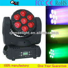 2013 Guangzhou New Stage Lighting Sharp 7*12W Quad Osram LED Beam Moving Head Light