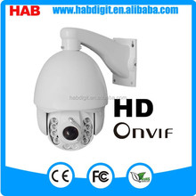 BW 10 LEDS Wiper Outdoor PTZ IP Camera 1.3 Megapixel HD High Speed Dome Camera