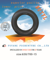 high quality butyl inner tube 6.50r14 made in China