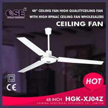 air conditioning appliances for Southeast Asia electr fan wholesal 48 inch tropical ceiling fan small motor HGK-XJ04Z