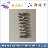Customized steel titanium spring,flat coil springs,trailer ramp springs, ISO9001/RoHS