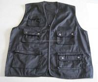 Fishing multi pocket vest