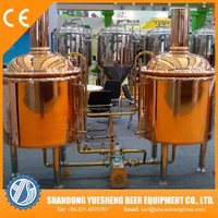 500l red copper tank used brewery equipment for sale