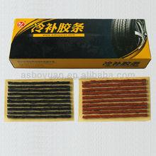 tire repair string and tire repairs