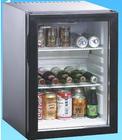 Absorção de mini frigorífico com porta de vidro