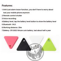 Wholesale New Arrival Smart Bluetooth Tracker Child Bag Wallet Key Finder GPS Locator Alarm Smart Finder with shutter remote