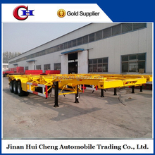 Huicheng Container Chassis, 40FT Skeleton Semi Trailer for sale