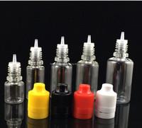 Multifunctional liquid PET Bottles 20ml Clear Eye Dropper Bottle Pipette With Long Thin Tip