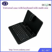 """caja del teclado de la tableta androide de color rosa 10 """"teclado caja de la tableta, tableta de 7 pulgadas teclado de la PC"""