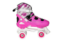 2015 safety quality children sport skating shoes durable quad roller skate professional for kid with CE for sale