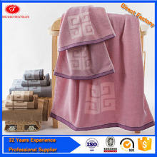 China wholesale 100% cotton active printed towel set with high quality