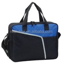 """Soft Side Padded 15"""" Laptop Computer Brief Case - BLUE"""