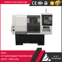 TCK42L Cheap Price Slant Bed CNC Lathe Machine for Allowy Wheel Repair