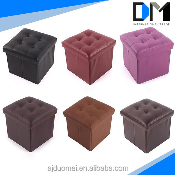 Furniture Living Room Waterproof Storage Box Portable Folding Foot Stool Buy Foot Stool