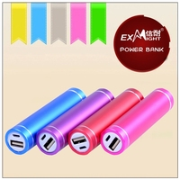 2014 cylinder tube power bank,emergency to charging anywhere