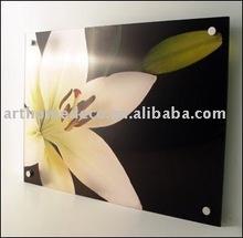 your image printed on gloss acrylic