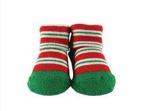 venta al por mayor de encargo de bebé de algodón calcetines del zapato como