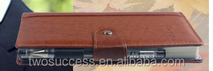 Excellent Handmade PU Leather Custom Paper Notebook .png