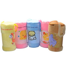 Branded cartoon pattern cotton baby blanket spain