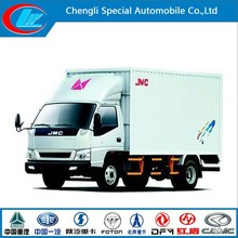 New condition JMC refrigerated van and truck New condition 7000KG refrigerated cargo box 7 TON mini sandwich paneJMC for sale
