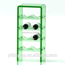 Green Acrylic Wine display shelf